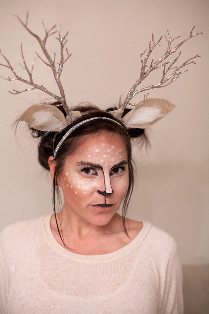 deer antler tutorial, diy, sparkle, flower crown