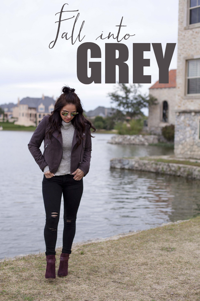Fall weather & Free People! Grey thermal & sweater looks.
