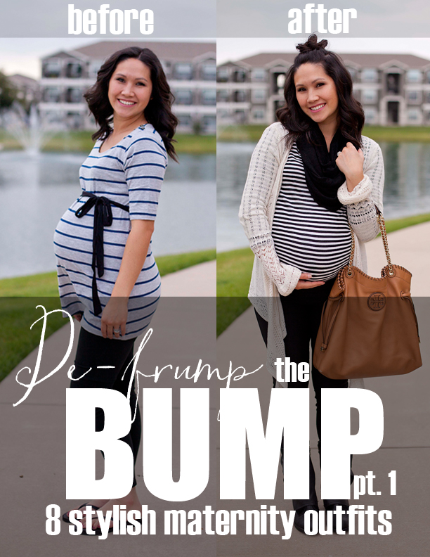 "De-frump the Bump! 8 outfits that are way better than ""just maternity wear"""