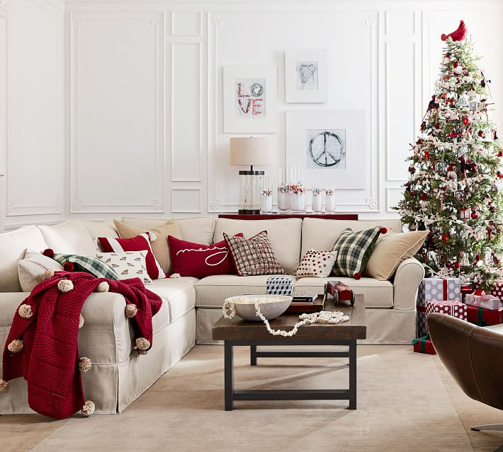 All Things Christmas Restoration Hardware Pottery Barn And Z Gallerie Blushing Rubies