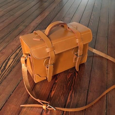 the Find - episode 1 - Vintage Full Grain Leather Camera Bag