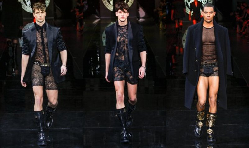 9d2b80c35d7 Lace Shorts and Rompers for Men Are Now a Thing - Blush Magazine