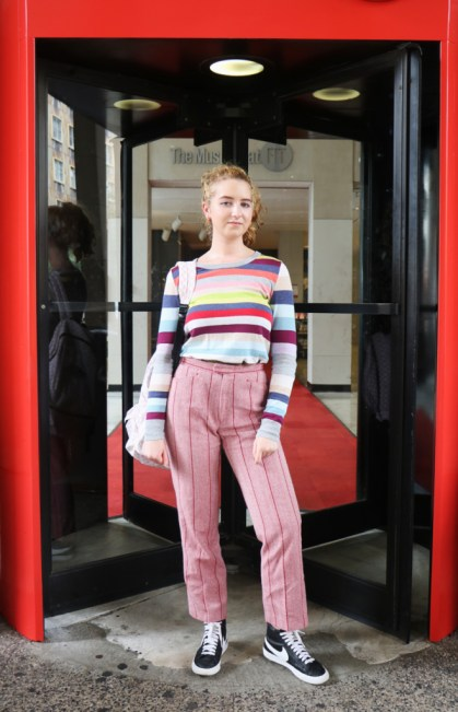 Emily Qualia in her street style outfit