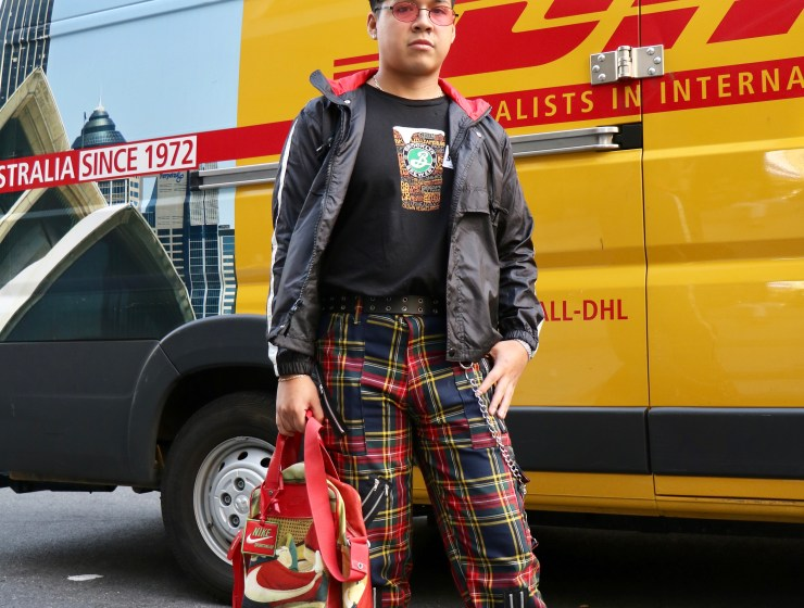 Joffree Contreras street style outfit