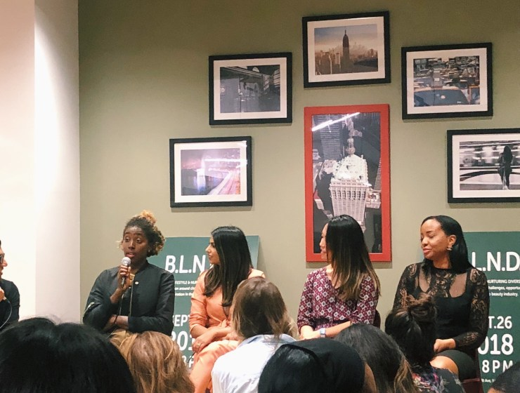 Panel of women of color.