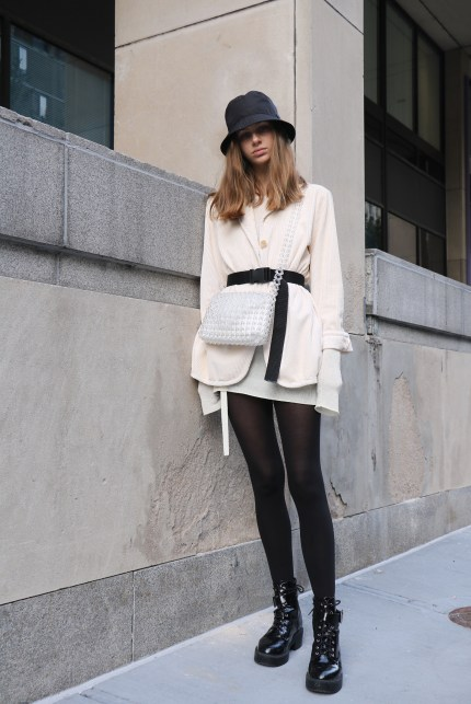Isabella Terzuoli in her street style outfit