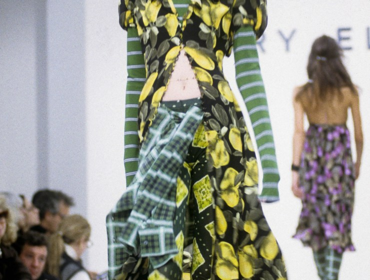 The first look from Marc Jacob's infamous 1993 grunge collection