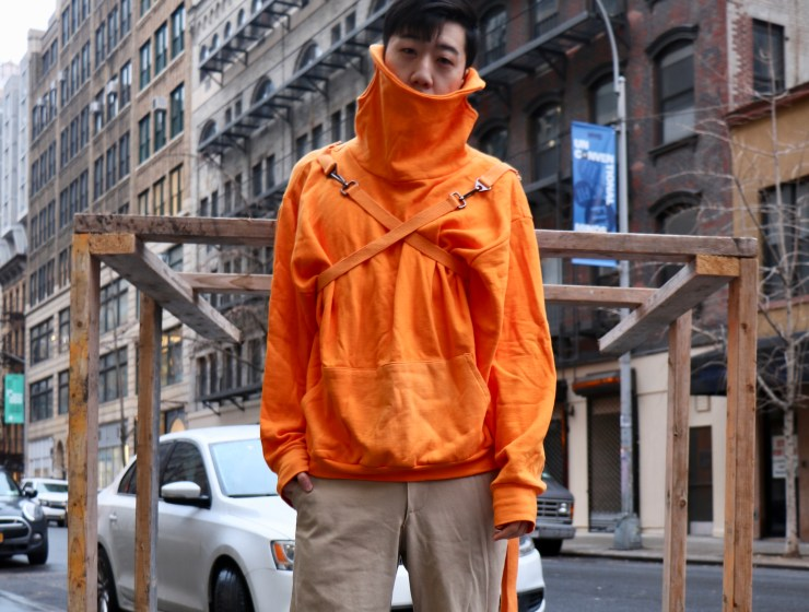 Edwin Yoo Street Style Outfit