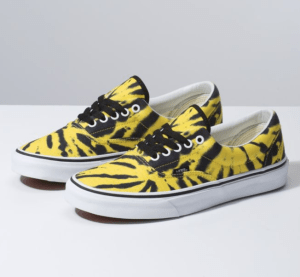 Vans tie dye grunge shoes