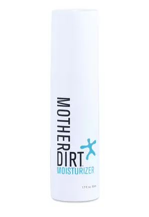 Mother Dirt's moisturizer that is vegan, contains probiotics, fragrance-free, hypoallergenic, non-GMO and preservative-free