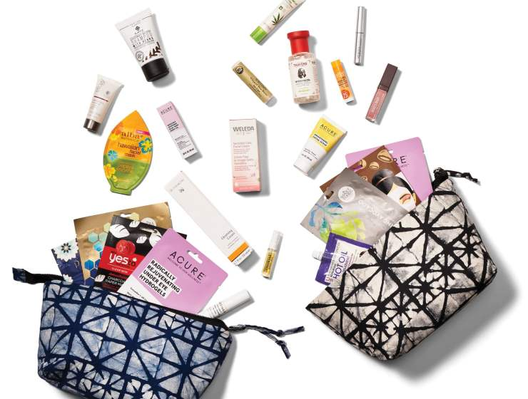 Two uniquely curated beauty bags, the All-Day Beautiful Bag or the Self-Care Sunday bag, both containing new and trending products, along with some Whole Foods Market favs. For $20 each, available for sale March 29th