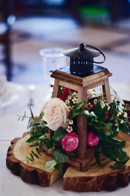 esküvői virágdísz