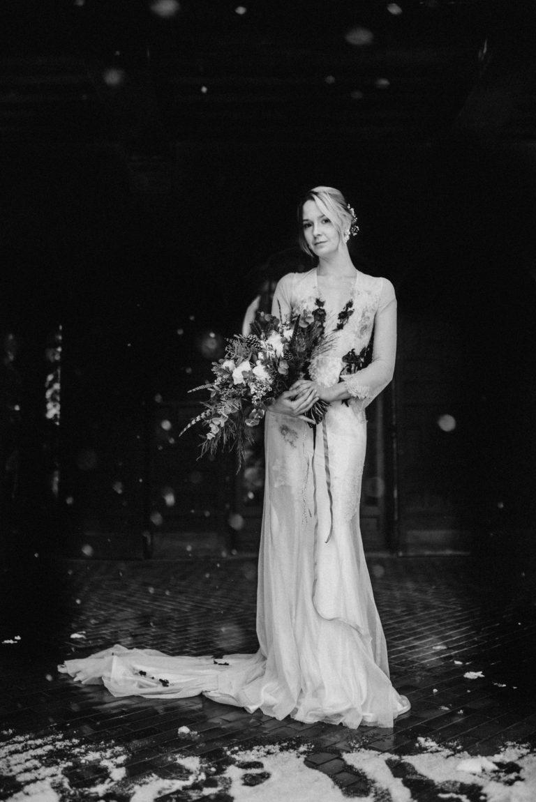 téli esküvő, esküvői dekor, Sorg villa, Ambe bride