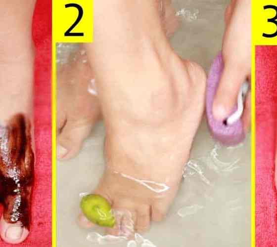 Best & Easy Natural Pedicure