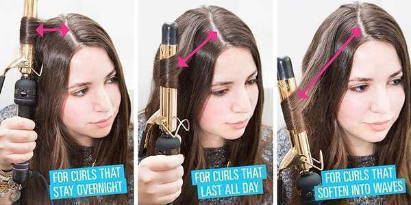 10 ways to curl hair perfectly 5
