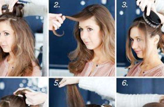 trick to get an attractive ponytail