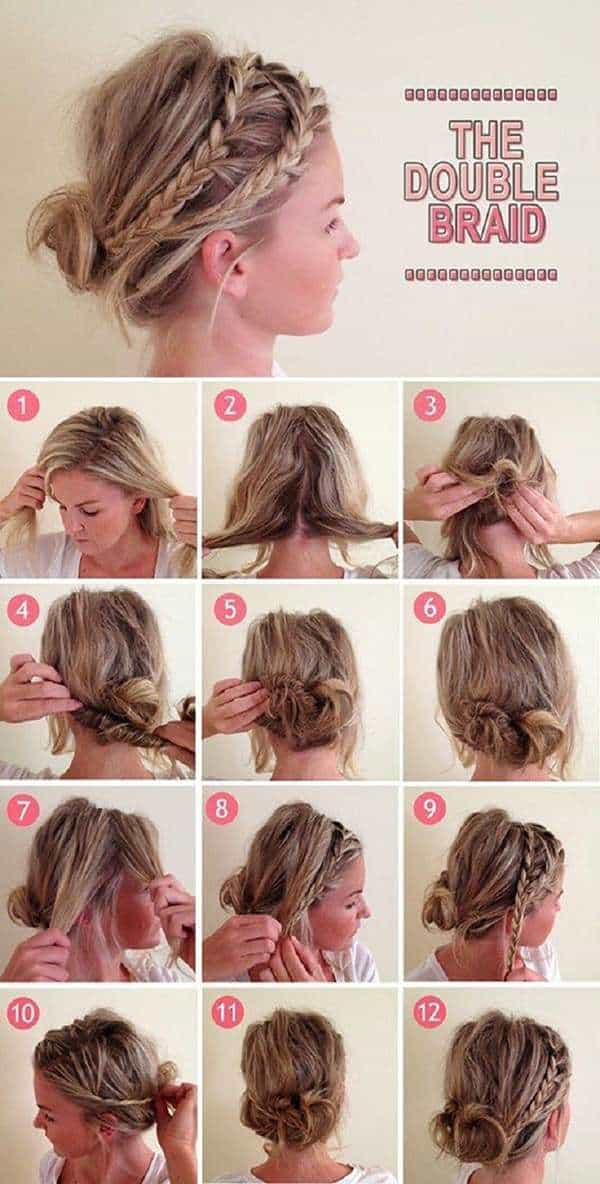 7 Ways To Quick Braided Bun Hairstyle For Any Event Blushy Babe