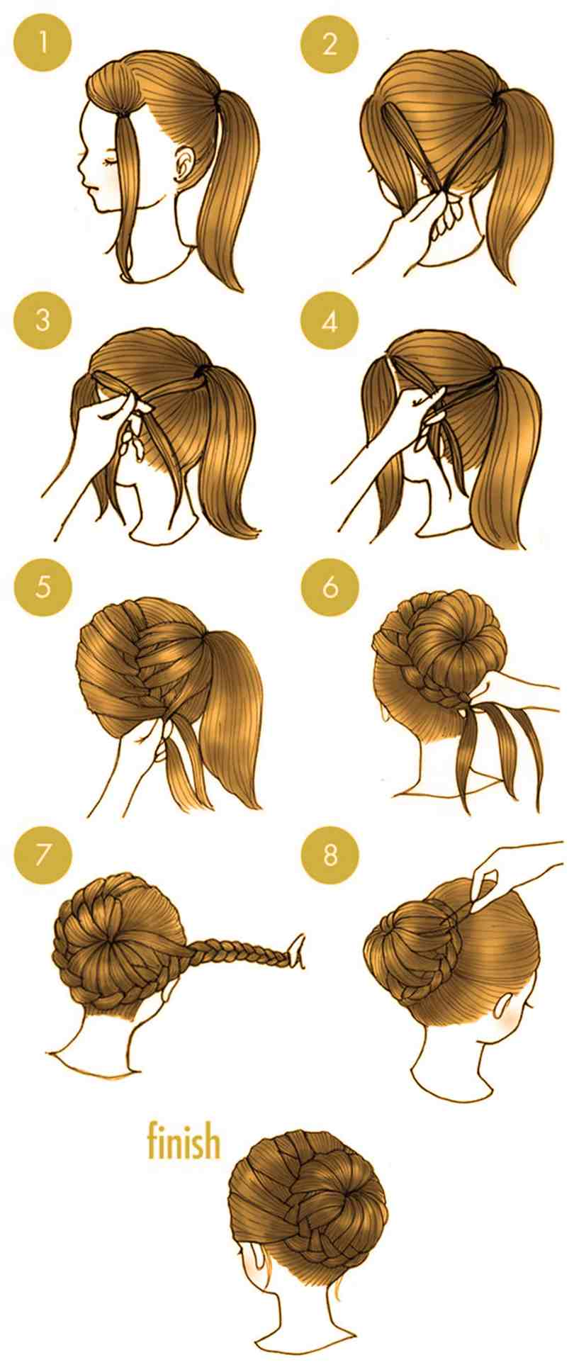 10 Quick Cute Hairstyles That Take Only 2 Minutes Of Your Time 11