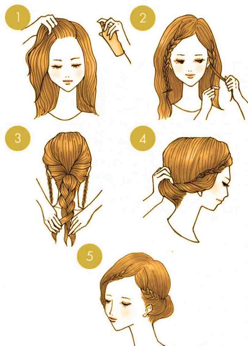10 Quick Cute Hairstyles That Take Only 2 Minutes Of Your Time 3