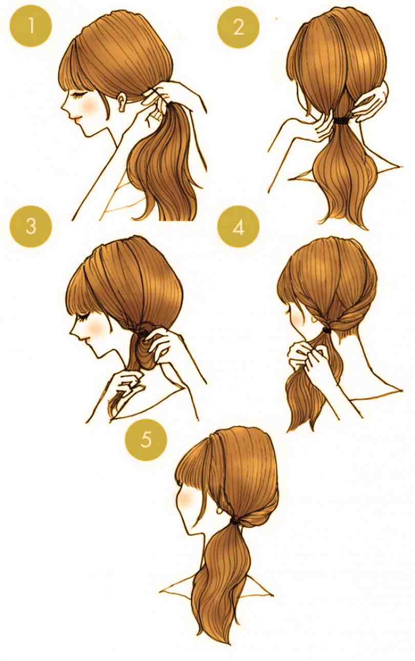 10 Quick Cute Hairstyles That Take Only 2 Minutes Of Your Time 6