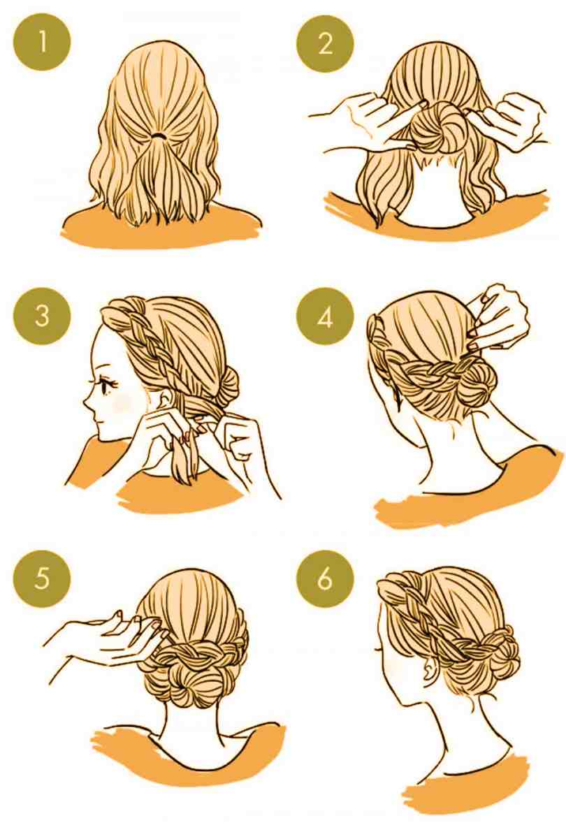 10 Quick Cute Hairstyles That Take Only 2 Minutes Of Your Time 8