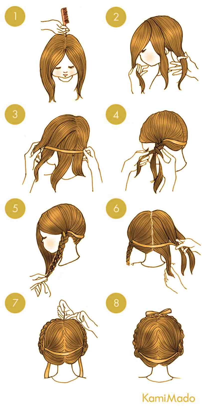 10 Quick Cute Hairstyles That Take Only 2 Minutes Of Your Time 10