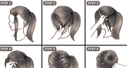 make 10 cute hairstyles in