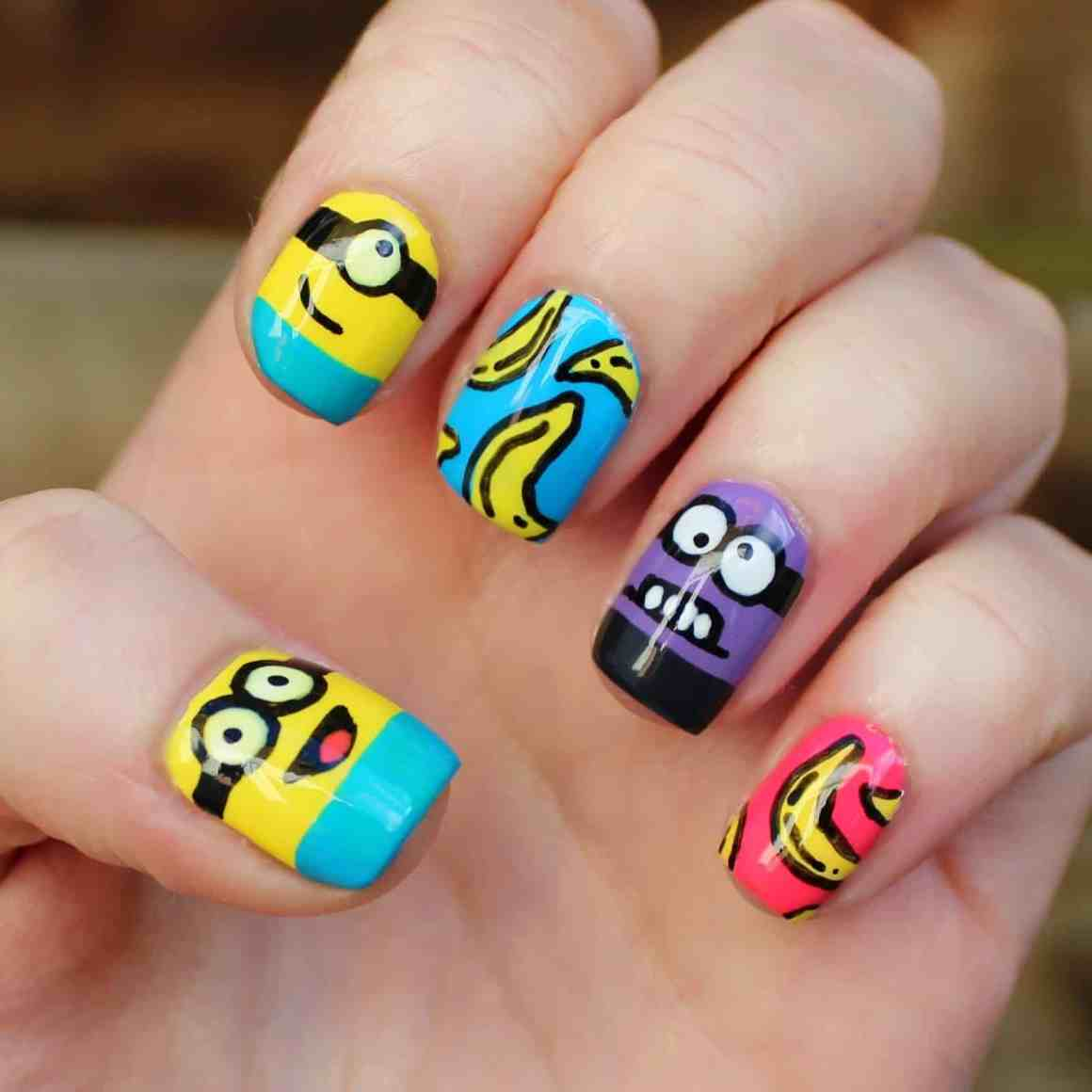 The trendy nail arts never gonna out from fashion 9