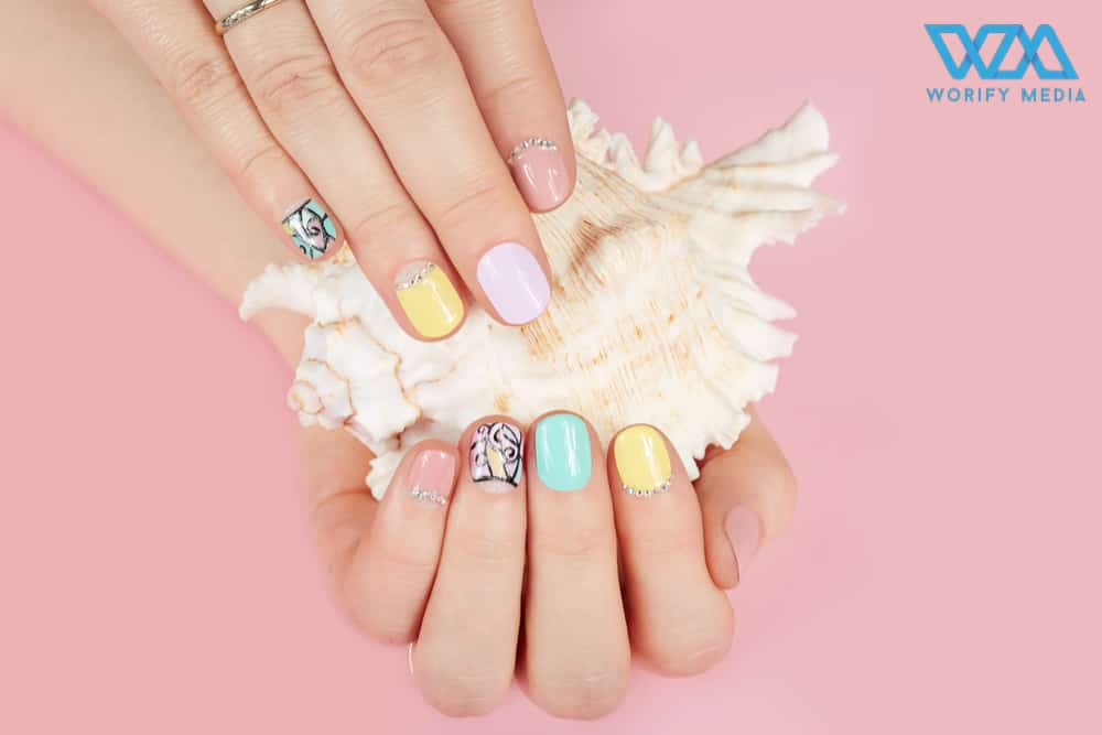 The trendy nail arts never gonna out from fashion 1