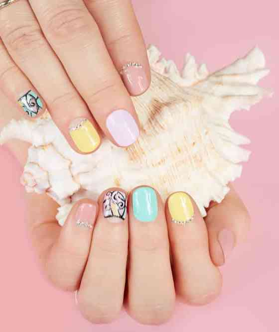 The trendy nail arts never gonna out from fashion 51