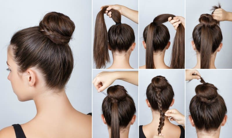Everyday Hairstyle For College Girls Step By Step