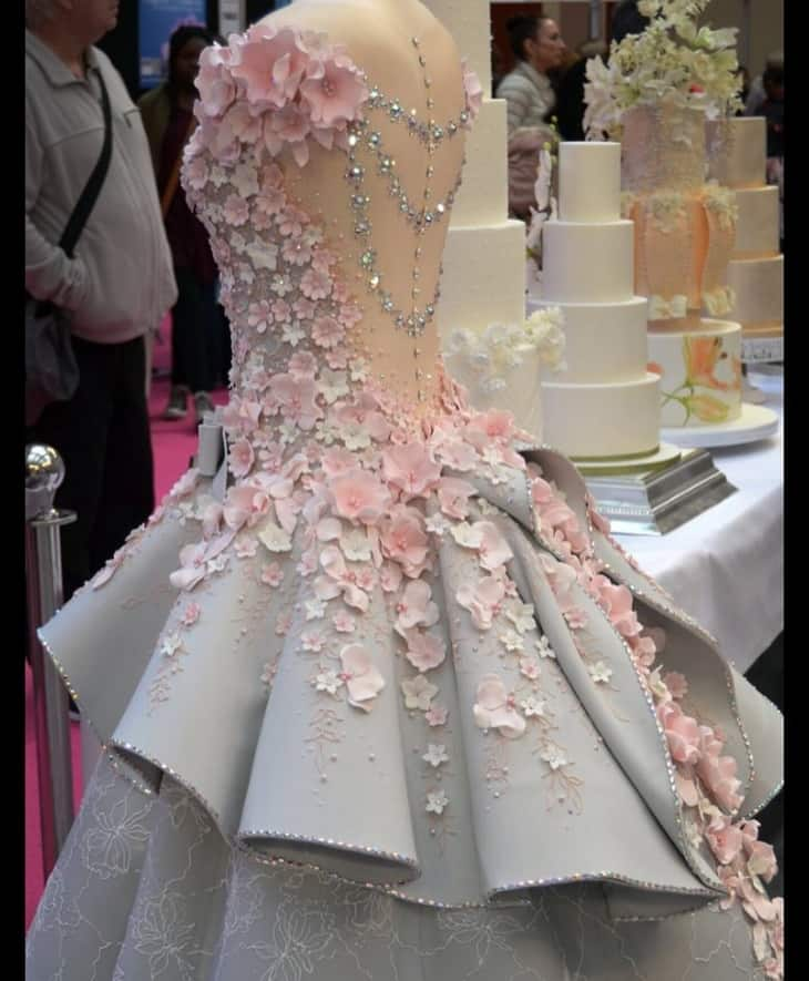 If it's not a wedding dress, then what is it? 2