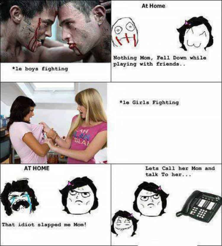 Check Out The Humorous Differences Between Men And Women 8