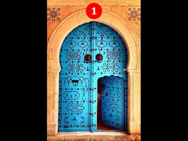 Image result for the blue door