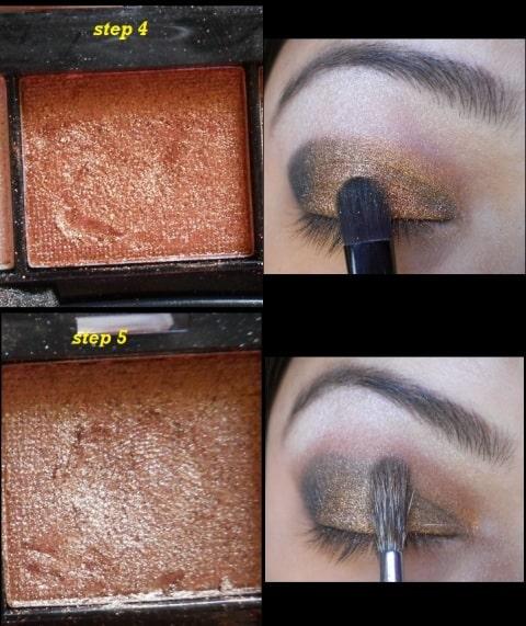 copper eye makeup tutorial (6)