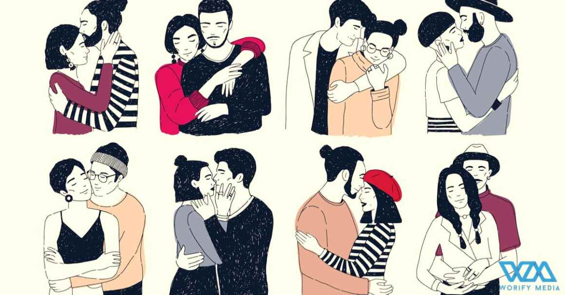 Different types of hugs can reveal about your relationship