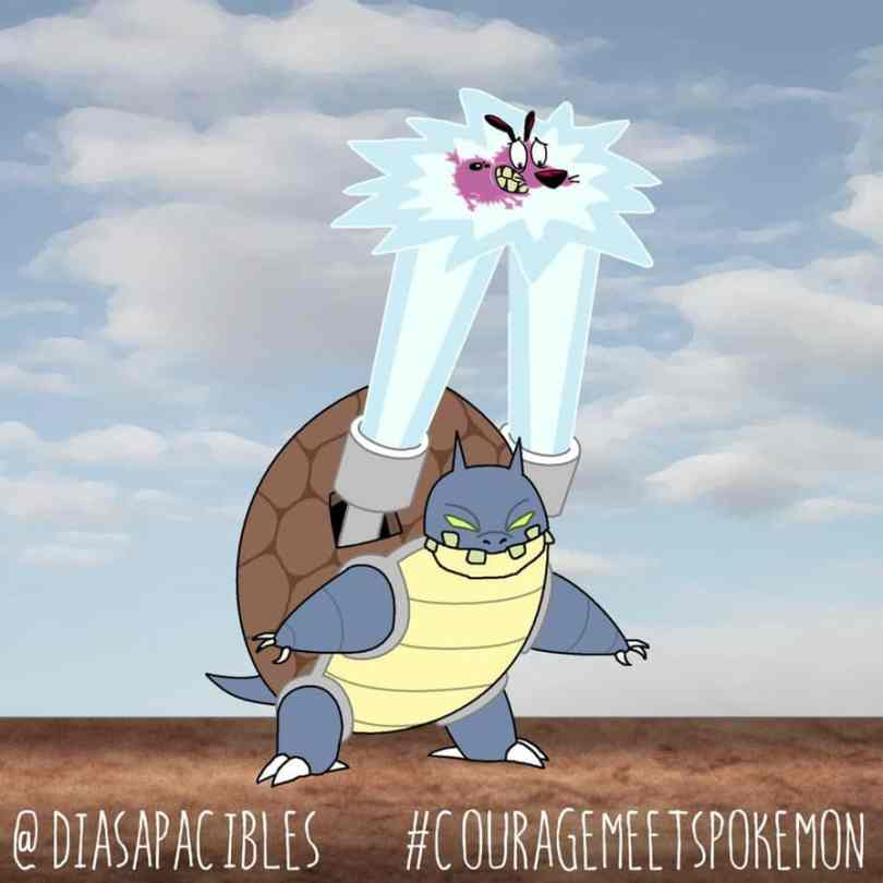The Situation When Pokemon Meets Courageous The Cowardly Dog 10