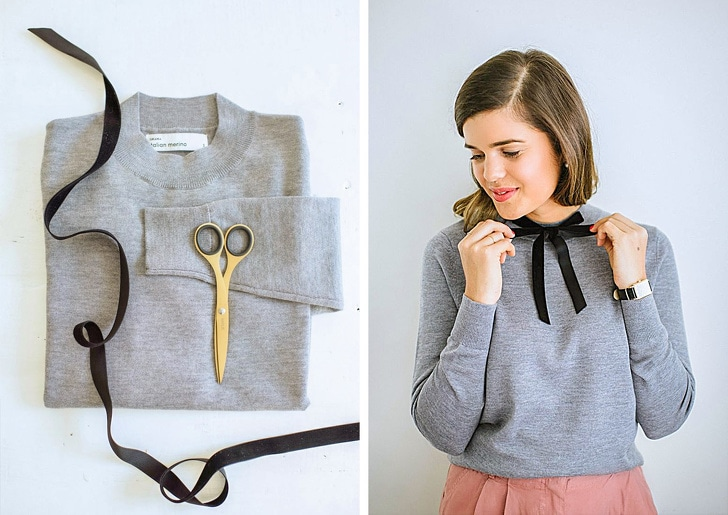 13 Best Clothing Tricks Which Turn Ordinary Items Into Designer Ones 2