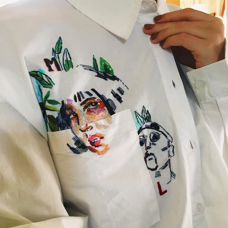 7 Best People Who Have Truly Turned Embroidery Into The MasterPieces 7