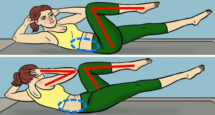 6 Best Exercises To Reduce Belly Fats In Less Than One Month 4