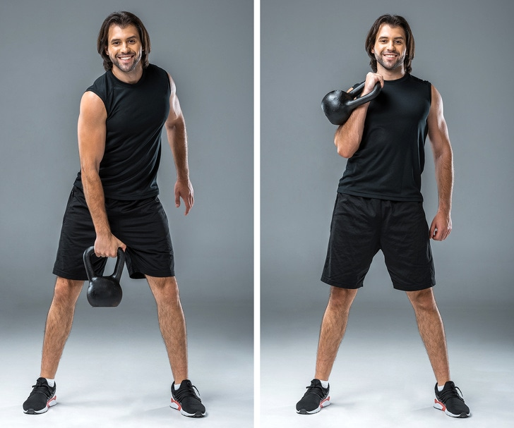 8 Best Kettle Bell Exercises To Reshape Your Body 9