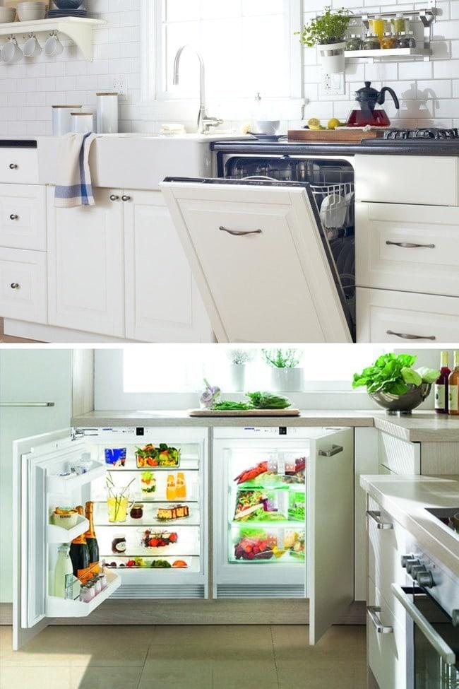 13 Ways to make your kitchen bigger