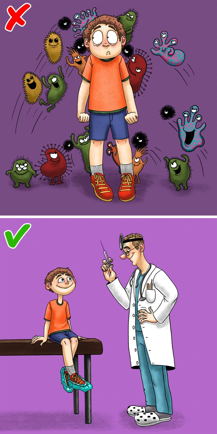 6 Rules From The Doctor For Parents To Raise Healthy Child 5