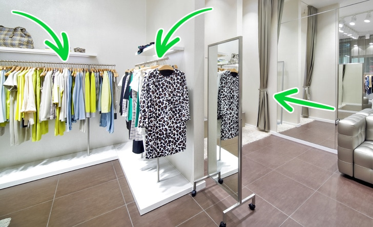 6 Best Tricks Used By Fashion Stores That Make Us Spend More Money 7