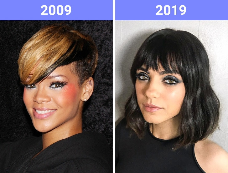 The Beauty Trends Of 10 Years Challenge Have Changed 4