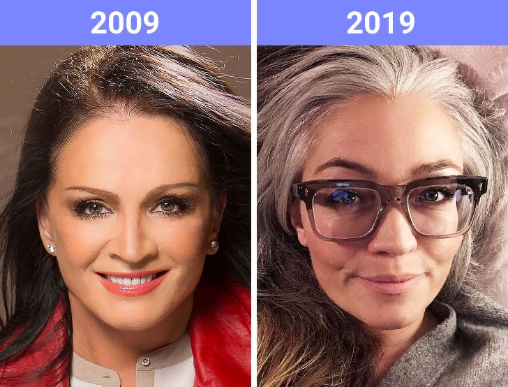 The Beauty Trends Of 10 Years Challenge Have Changed 6