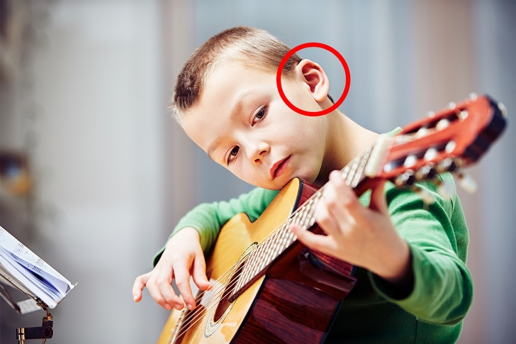 Music helps in the improvement in your hearing capabilities.