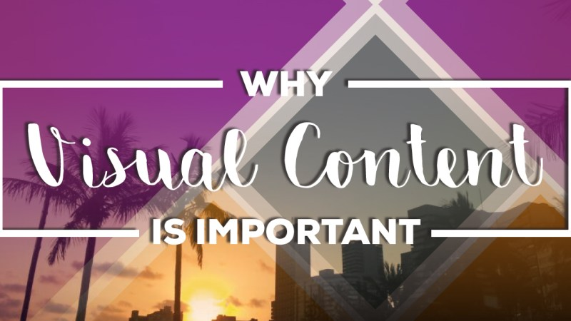 visual content is important