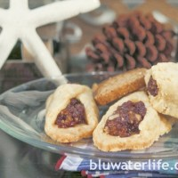 cheddar and date cookies ~ holiday week