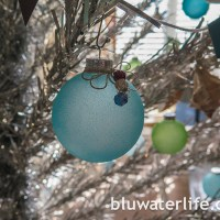sea glass ornaments ~